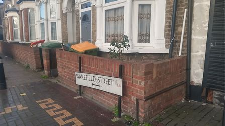 Fuadi was killed in front of his family home of three decades in Wakefield Street, East Ham. Picture