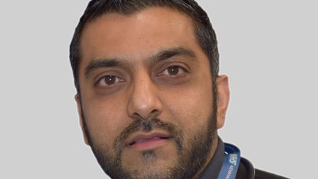 Dr Muhammad Navqi, Newham CCG chairman, is pleased with the new mental health crisis line.