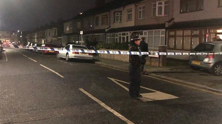 Three men were stabbed to death near Elmstead Road, Seven Kings on Sunday, January 19. Picture: Imog