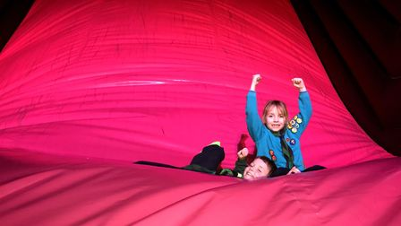 Flip Out is offering Scout groups discounted rates, including at its East Ham trampoline park. Pictu