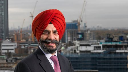 Cllr Jas Athwal, leader of Redbridge Council, spoke in support of the Met's actions. Picture: Andrew