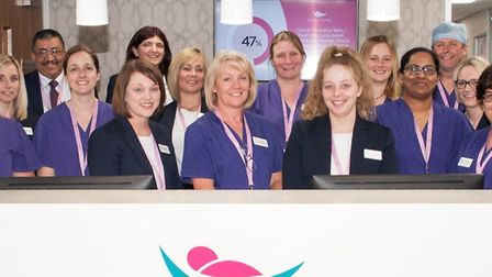 The team at Simply Fertility. Picture: Sarah Glew