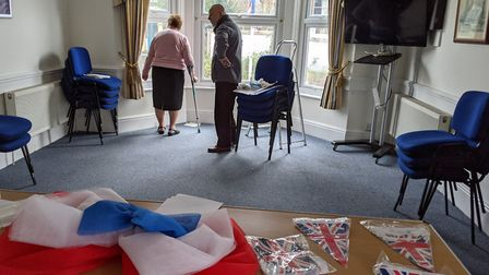 Preparations are underway in Margaret Thatcher house, expect English sparkling wine, pie and mash an