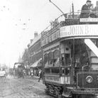 Ilford High Road, at the Broadway Junction, pictured in 1900. Picture: A Century Of Ilford