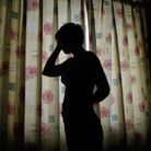 A stock photograph of a child silhouette. Picture: PA