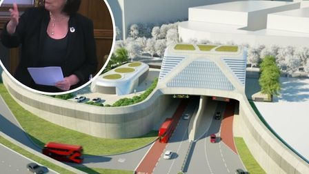 West Ham MP Lyn Brown slammed the Silvertown Tunnel project. Picture: LDRS