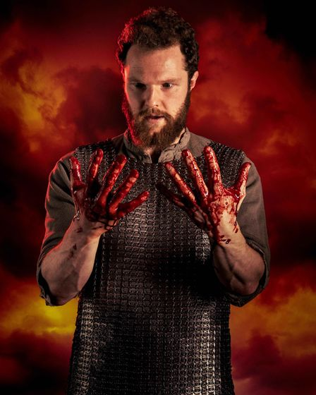 Macbeth comes to Queen's Theatre, Hornchurch. Picture: Mark Sepple.