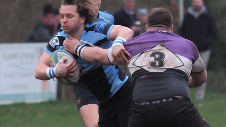 Eton Manor in action against Woodford. Picture: Martin Pearl
