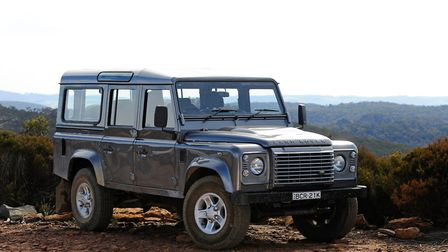 The Compound is raising funds for a decomissionied Land Rover Defender 110. Picture: Mark Watson/NRM