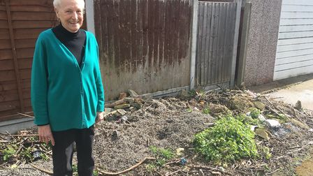 Pauline Turner, 84, from Hornchurch has been served a warning notice about rubbish which she says ha