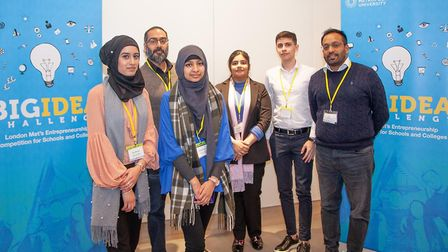 The team behind Waste Reductionists which wants to give people financial incentives to recycle their
