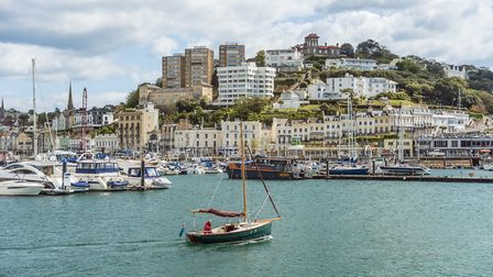 Torquay Harbor and Marina. Photo: Olaf Protze/LightRocket/Getty