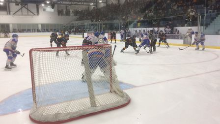 Raiders beat Peterborough in front of another good crowd at the Sapphire Ice & Leisure Centre