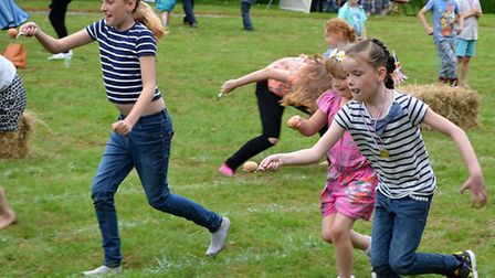 A family fun afternoon at Blundeston Millennium Green to mark the Queen's 90th birthday celebrations