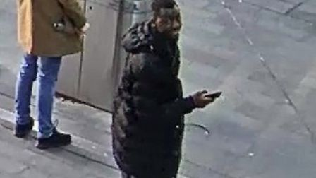 Police would like to identify this man. Picture: BTP