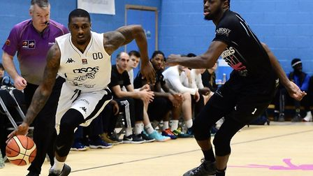 Action from London Lions clash with Surrey Scorchers (pic Graham Hodges)