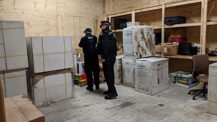 Essex Police, the British Transport Police and the National Crime Agency joined forces on a major op