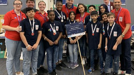 Dersi_Coders won the Newham regional event to reach the First Lego League 'City Shapers' England and