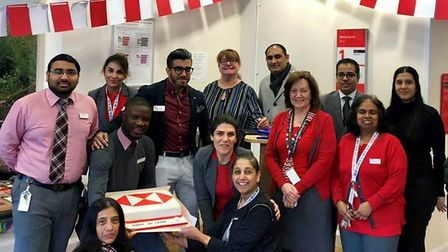 HSBC's Ilford branch is celebrating 100 years since it opened. Picture: HSBC