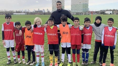 Max Patel will coach FC Leytonstone's youngsters. Picture: Munaf Abhram