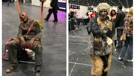 Costumed attendees at last year's Walker Stalker Con at the ExCel. Pictures: Kelly Almond