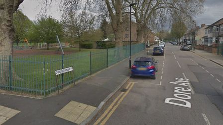 A woman has been stabbed in Little Ilford Park. Picture: Google