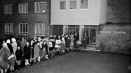 In 1962, although the health centre at Gooshay's Drive, Harold Hill, was giving smallpox vaccination