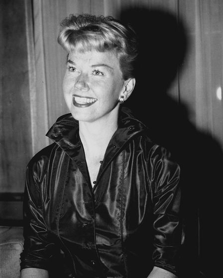 Doris Day at Claridge's, her London hotel. Picture: PA