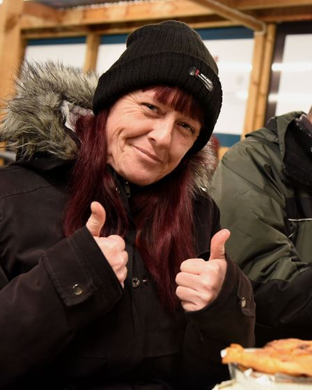 For Kelly, the soup kitchen has reduced her isolation dramatically. Picture: Ken Mears