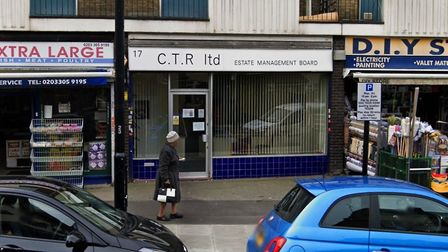 The offices in Hermit Road, where an altercation reportedly took place in October. Picture: Google S