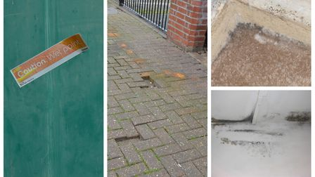 Residents have reported protracted waits for repairs in Avondale Court. Pictures: Hannah Somerville/