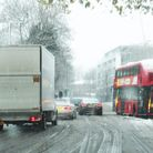 There is an ice warning in place overnight into Wednesday morning across London and South East Engla