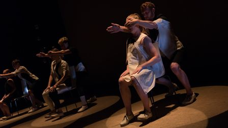A London based tap dance company is bringing their show OSCiLLATE to Queens Theatre, Hornchurch in M
