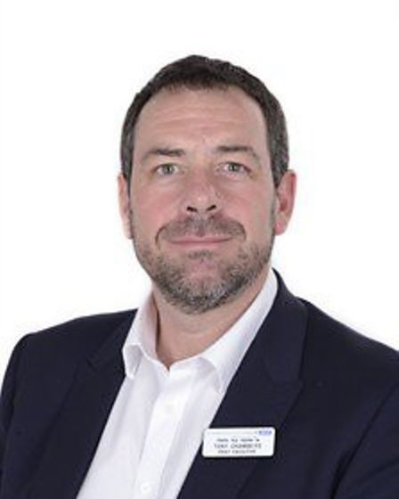 Tony Chambers is chief executive of BHRUT. Picture: BHRUT