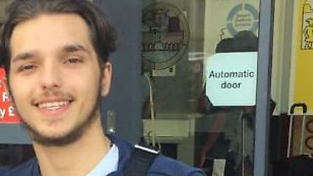 Santino Angelo Dymiter died after being stabbed in Plaistow. Picture: Met Police