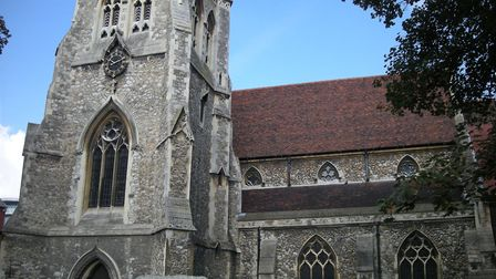 Richard Atkins was vicar of St Edward the Confessor Church in Romford. Picture: Wiki Commons/Fay1982