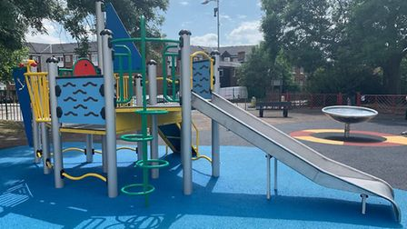 Parks will remain open but children's play equipment will be out of bounds. Picture: Redbridge Counc