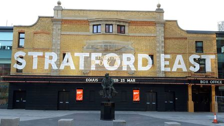 Theatre Royal Stratford East. Picture: Ken Mears