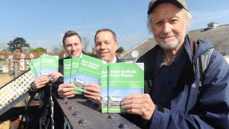 East Suffolk Rail Lines partnership launches new edition of its railway walks book. Paul Oxley, Aar