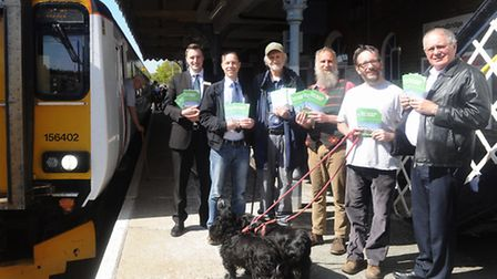 East Suffolk Rail Lines partnership launches new edition of its railway walks book. Paul Oxley , Aa