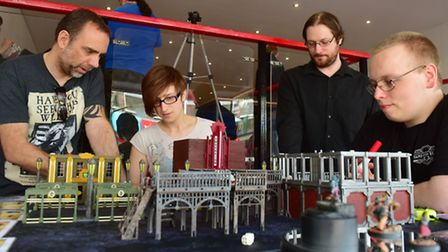 A new gaming shop called Boundless Realms has opened in Lowestoft. Customers playing a new game call