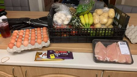 Natasha Wyatt bought this haul from Bloom and Veg for �40 including delivery. Picture: Natasha Wyatt