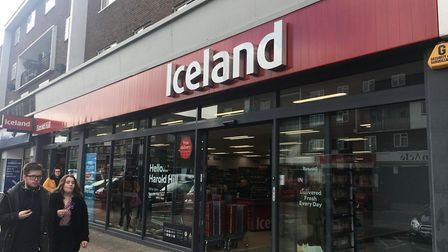 Iceland in Farnham Road, Harold Hill. Picture: Liam Coleman