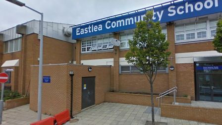 Eastlea Community School has been rated inadequate by watchdog Ofsted. Picture: Google