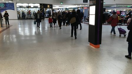 The Stratford Centre will be closed from 8pm to 5am for the next 28 days. Picture: Jon King