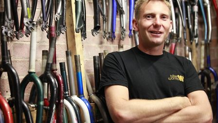 Co-founder and chief executive of Bikeworks, Jim Blakemore. Picture: Isabel Infantes