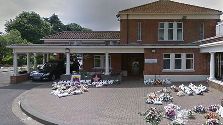 A temporary mortuary has been constructed in the main car park of the South Essex Crematorium at Cor
