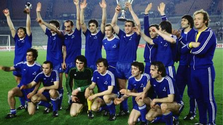 Tbilisi with the cup winners cup