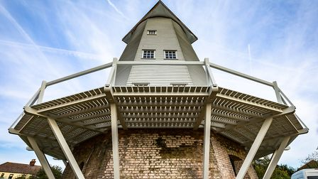 Upminster Windmill in its final stages of restoration. Photo: Andrew Conway