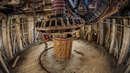 The interior of the mill. Photo: Andrew Conway